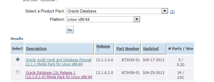 Oracle Database 12c available for download – Keyword Oracle